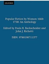 Popular Fiction by Women 1660-1730 | auteur onbekend |