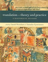 Translation - Theory and Practice | Daniel Weissbort |