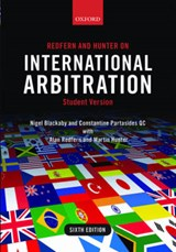Redfern and Hunter on International Arbitration | Nigel Blackaby |