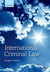 International Criminal Law | Douglas Guilfoyle |