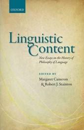 Linguistic Content