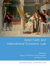 Good Faith and International Economic Law | auteur onbekend |