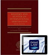 Redfern and Hunter on International Arbitration | Nigel Blackaby; Constantine Partasides; Alan Redfern; Martin Hunter |