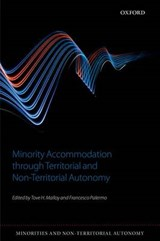 Minority Accommodation Through Territorial and Non-territorial Autonomy |  |