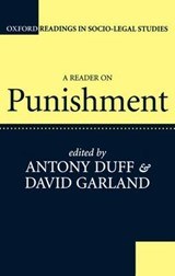 Reader on Punishment | Anthony Duff |