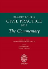 Blackstone's Civil Practice 2017: The Commentary