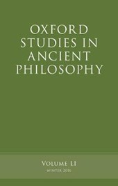 Oxford Studies in Ancient Philosophy Winter