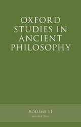 Oxford Studies in Ancient Philosophy Winter |  |