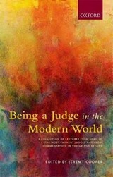 Being a Judge in the Modern World | Jeremy Cooper |