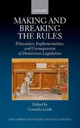 Making and Breaking the Rules | Cornelia Linde |