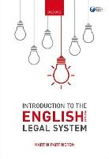 Introduction to the English Legal System 2017-2018 | Martin Partington |