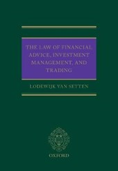 The Law of Financial Advice, Investment Management, and Trading