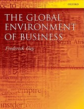 Global Environment of Business | Frederick Guy |