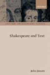 Shakespeare and Text | John Jowett |