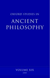 Oxford Studies in Ancient Philosophy | David (professor of Ancient Philosophy at the University of Cambridge) Sedley |