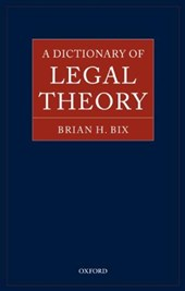 Dictionary of Legal Theory