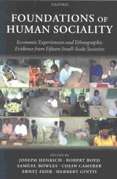 Foundations of Human Sociality