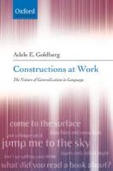 Constructions at Work | Adele Goldberg |