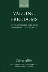 Valuing Freedoms | Sabina Alkire |