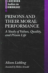 Prisons and their Moral Performance | Helen Arnold |
