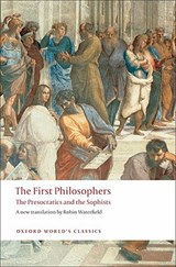 The First Philosophers | WATERFIELD,  Robin |
