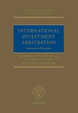 International Investment Arbitration | Campbell McLachlan |