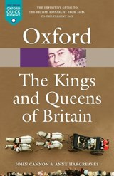 The Kings & Queens of Britain | Cannon, John ; Hargreaves, Anne |