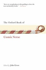 The Oxford Book of Comic Verse | John Gross |