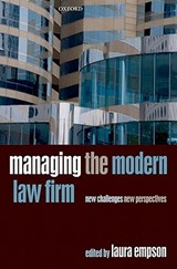 Managing the Modern Law Firm | auteur onbekend |