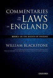 Oxford Edition of Blackstone's: Commentaries on the Laws of