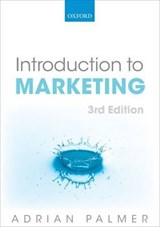 Introduction to Marketing | Adrian Palmer |