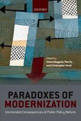 Paradoxes of Modernization | Margetts, Helen; 6, Perri; Hood, Christopher |