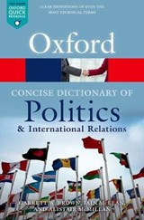 Concise Oxford Dictionary of Politics and International Rela | Iain McLean |