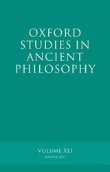 Oxford Studies in Ancient Philosophy |  |