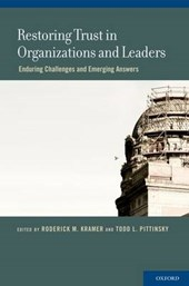 Restoring Trust in Organizations and Leaders |  |