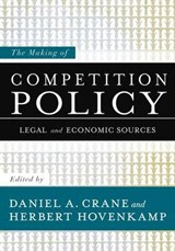 The Making of Competition Policy | auteur onbekend |