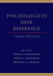 Psychologists' Desk Reference | Gerald P. Koocher |