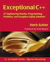 Exceptional C++ | Herb Sutter |