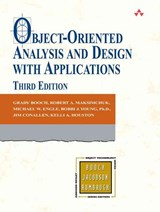 Object-Oriented Analysis and Design with Applications | Grady Booch |