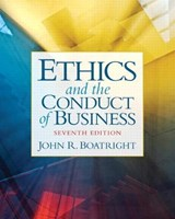 Ethics and the Conduct of Business | John R. Boatright |