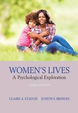 Women's Lives | Etaugh, Claire A.; Bridges, Judith S. |