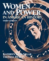 Women and Power In American History | Sklar, Kathryn Kish ; Dublin, Thomas |