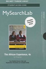 Mysearchlab with Pearson Etext -- Standalone Access Card -- For the African Experience | Vincent B. Khapoya |