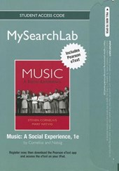 Mysearchlab with Pearson Etext -- Standalone Access Card -- For Music