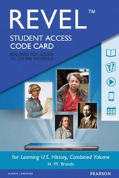 Learning U.S. History, REVEL Access Code