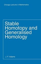 Stable Homotopy & Generalised Homology | Adams |