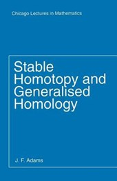 Stable Homotopy & Generalised Homology