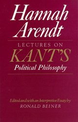 Lectures On Kant's Political Philosophy | Arendt |