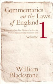 Commentaries on the Laws of England, V | Blackstone |