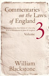 Commentaries on the Laws of England V | Blackstone |